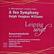 CD Cover - A Sea Symphony - Live Gewandhaus