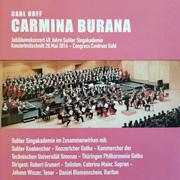 CD Cover - Carmina Burana - Live Suhler Singakademie