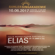 CD Cover - Elias - Live Hauptkirche Suhl
