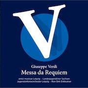 CD Cover - Verdi, Requiem - Live Thomaskirche