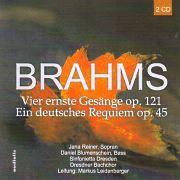 CD Cover - Brahms - Live Aufnahme 2007