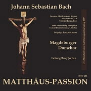 CD Cover - Matthäus Passion - Live 2007